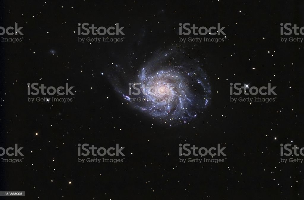 Pinwheel Galaxy stock photo