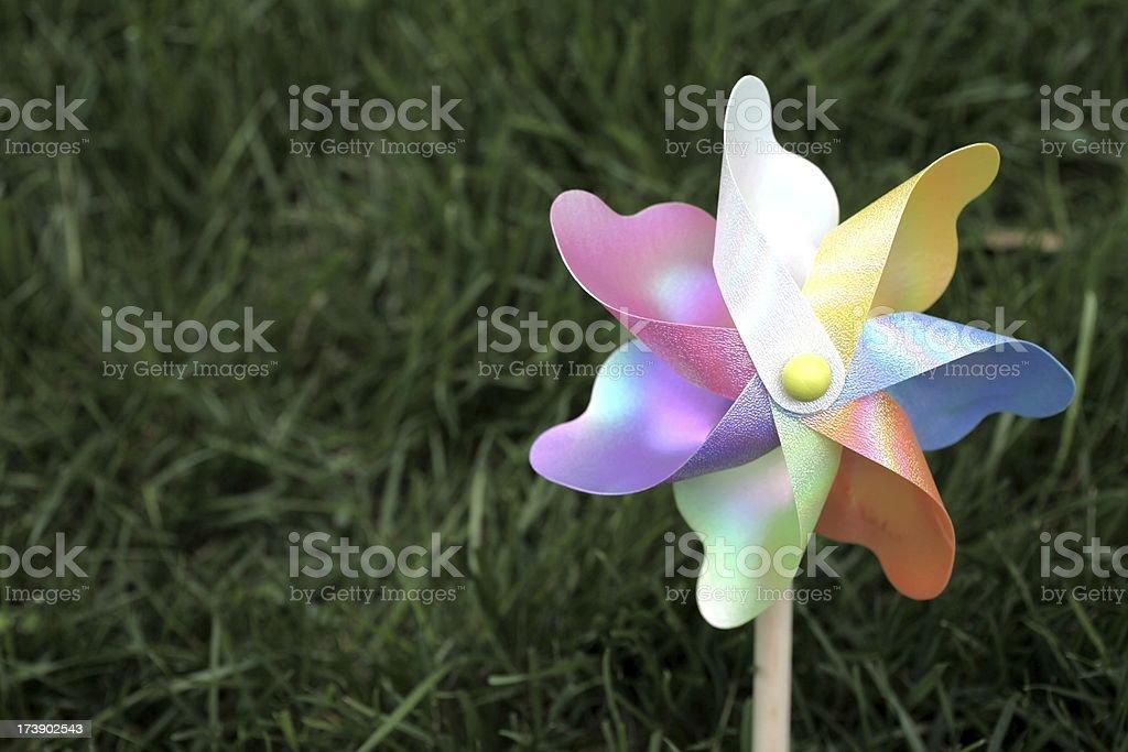 Pinwheel stock photo