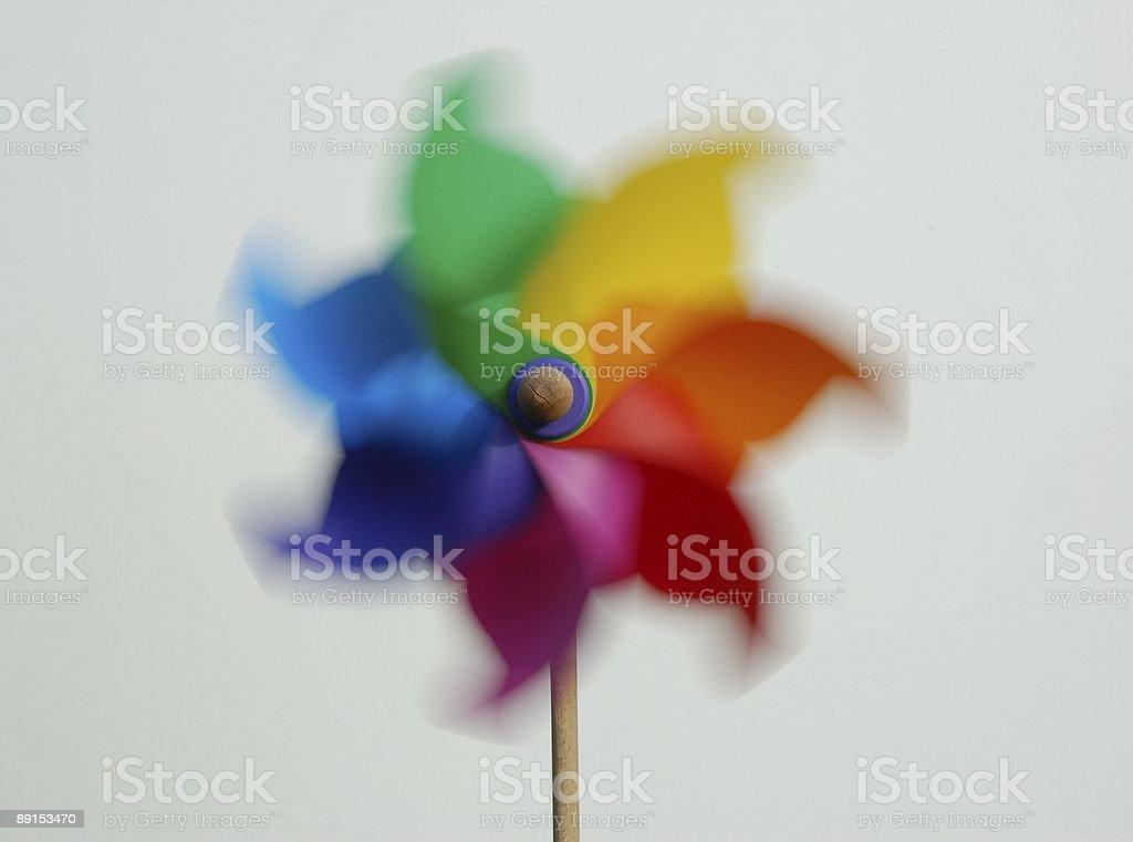 pinwheel royalty-free stock photo