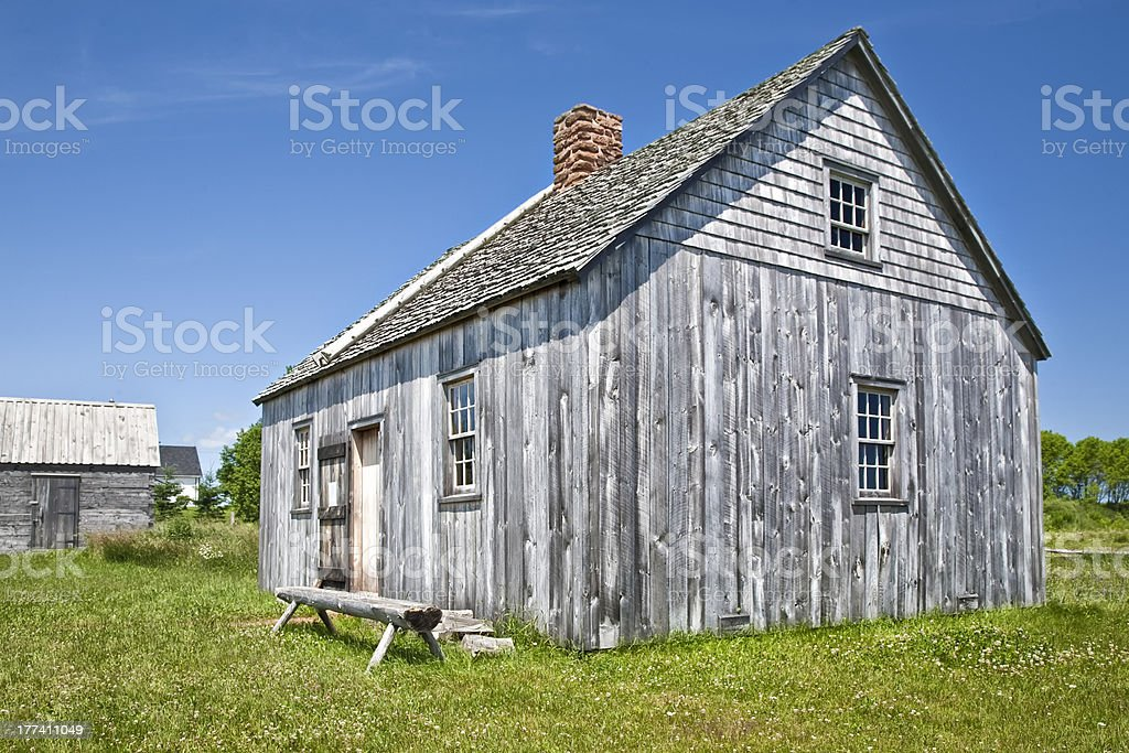 Pioneer House royalty-free stock photo