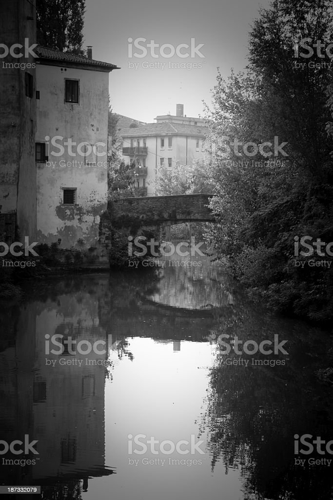 'Piovego' waterway royalty-free stock photo