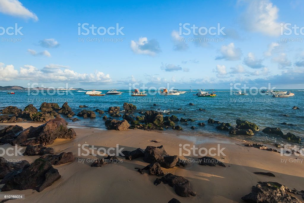 Pipa Beach stock photo