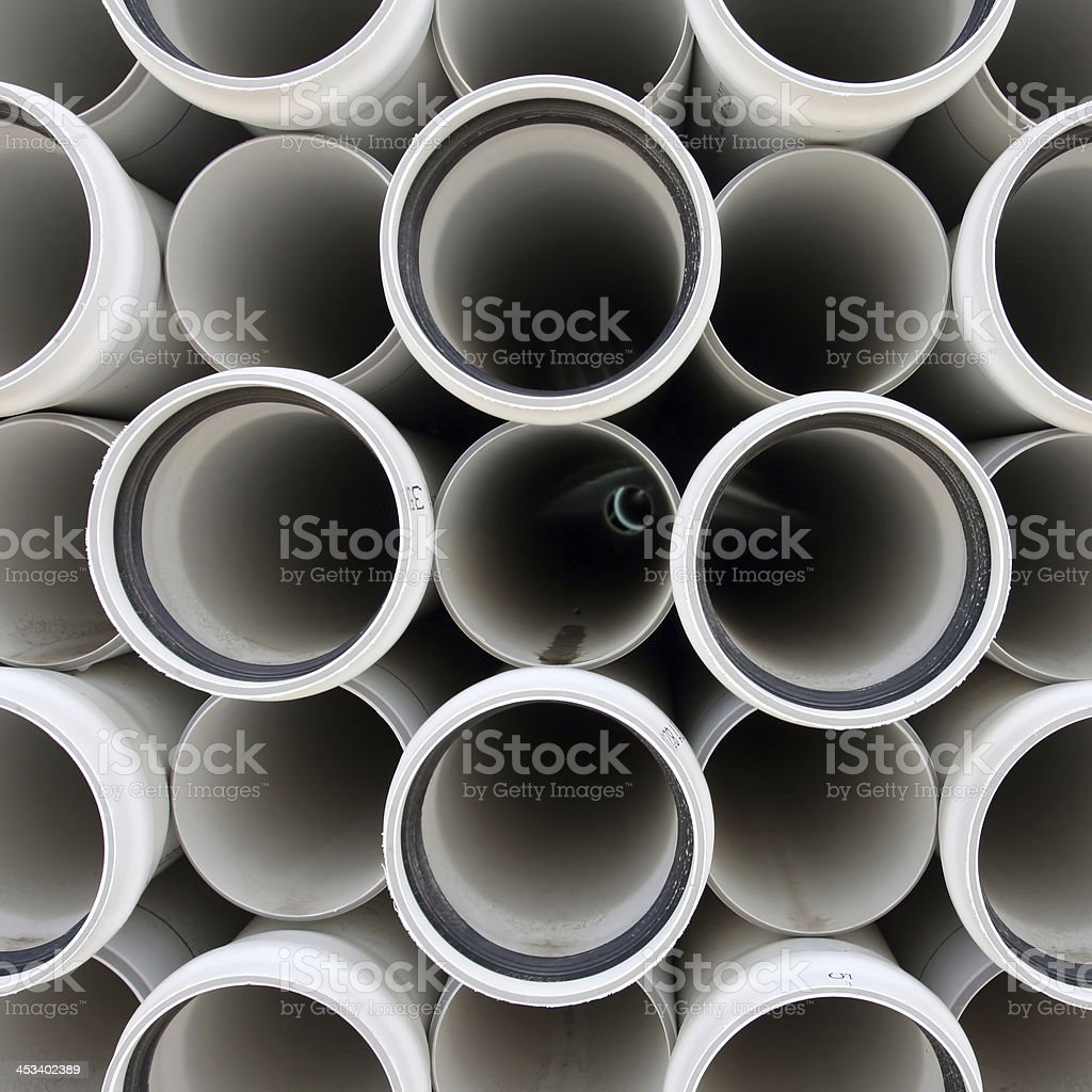PVC Pipe Abstract royalty-free stock photo