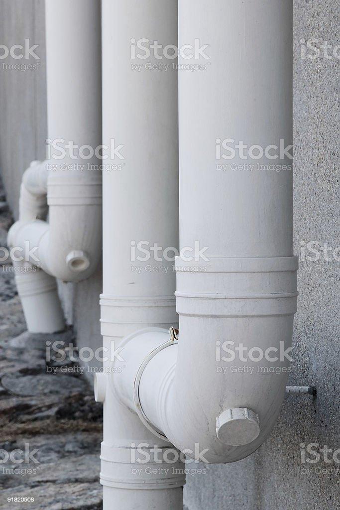 Primer plano de tubo foto de stock libre de derechos