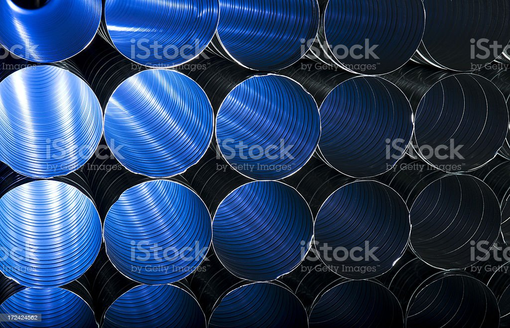 Pipe ducting royalty-free stock photo