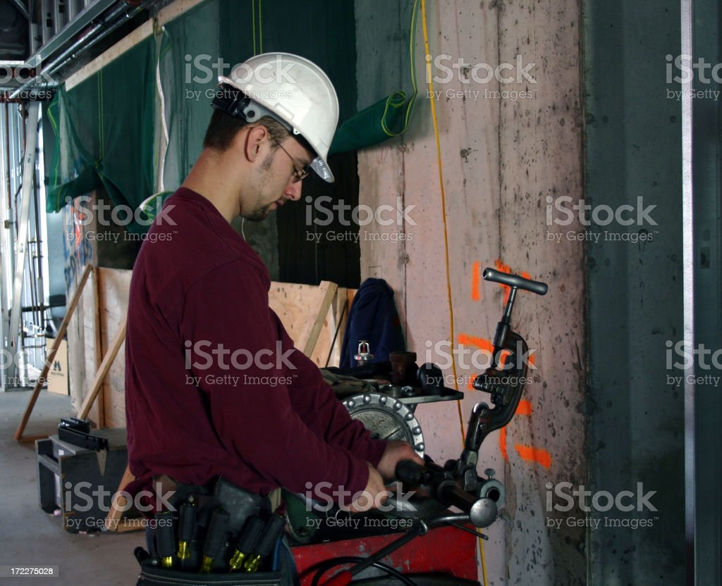 Pipe Fitting royalty-free stock photo