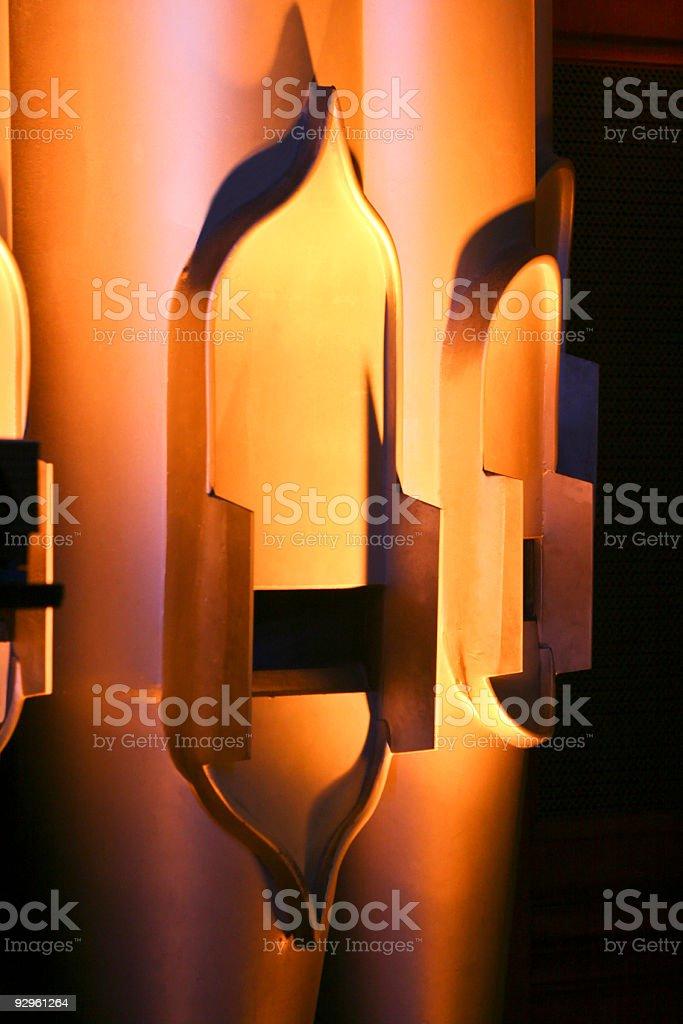 Pipe Organ Pipes Close Up stock photo