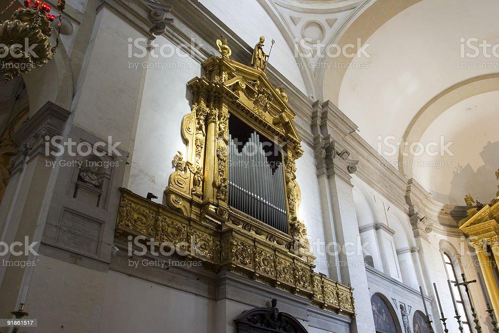 Pipe Organs royalty-free stock photo