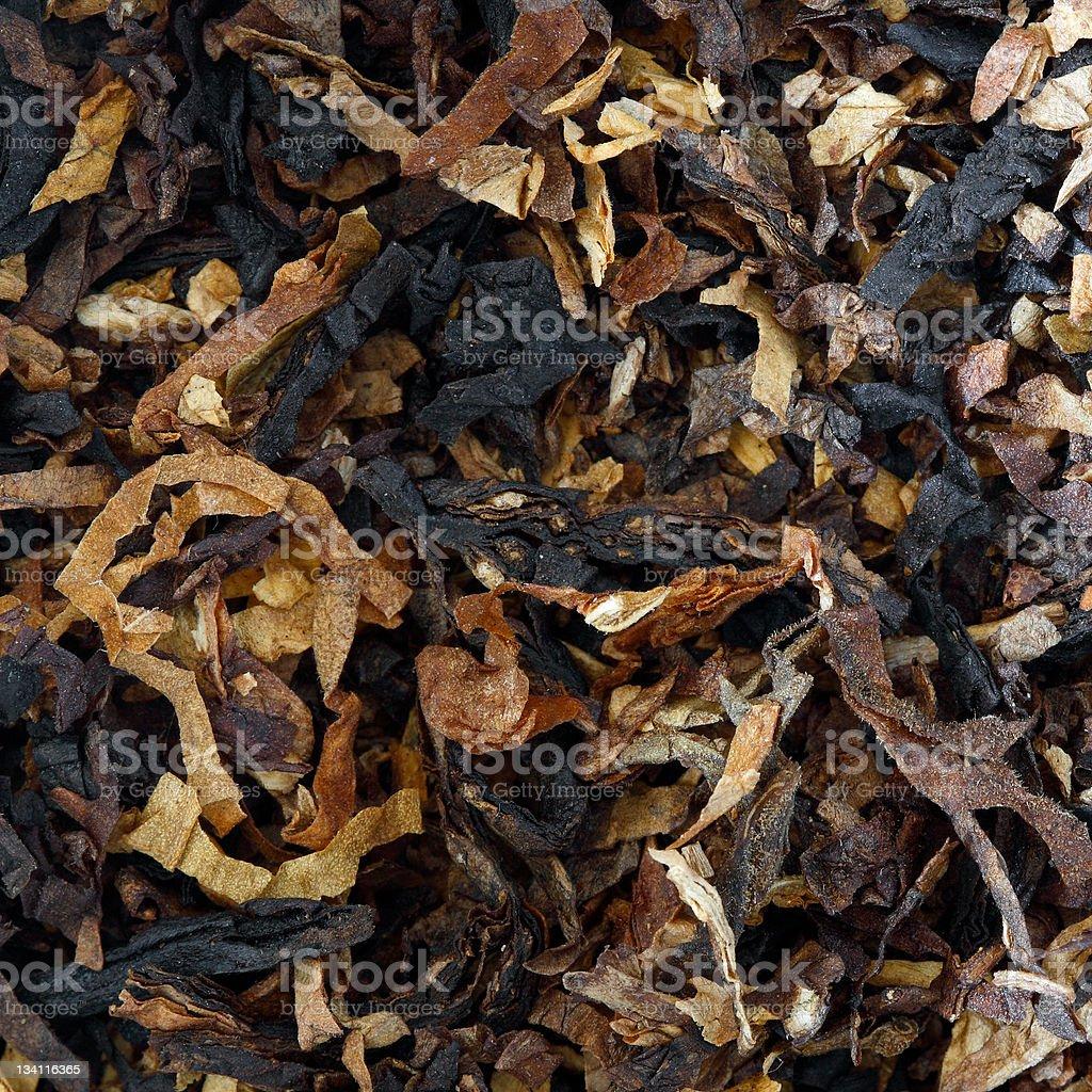 Pipe tobacco stock photo