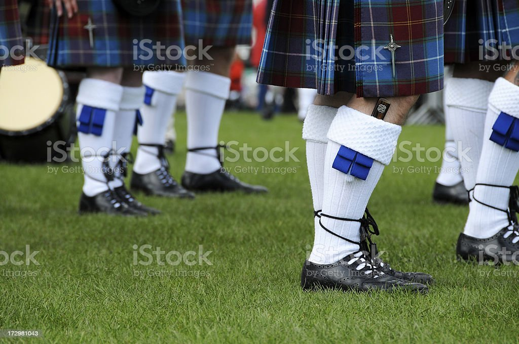 Pipeband royalty-free stock photo