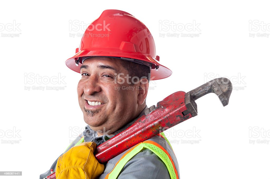 Pipefitter royalty-free stock photo