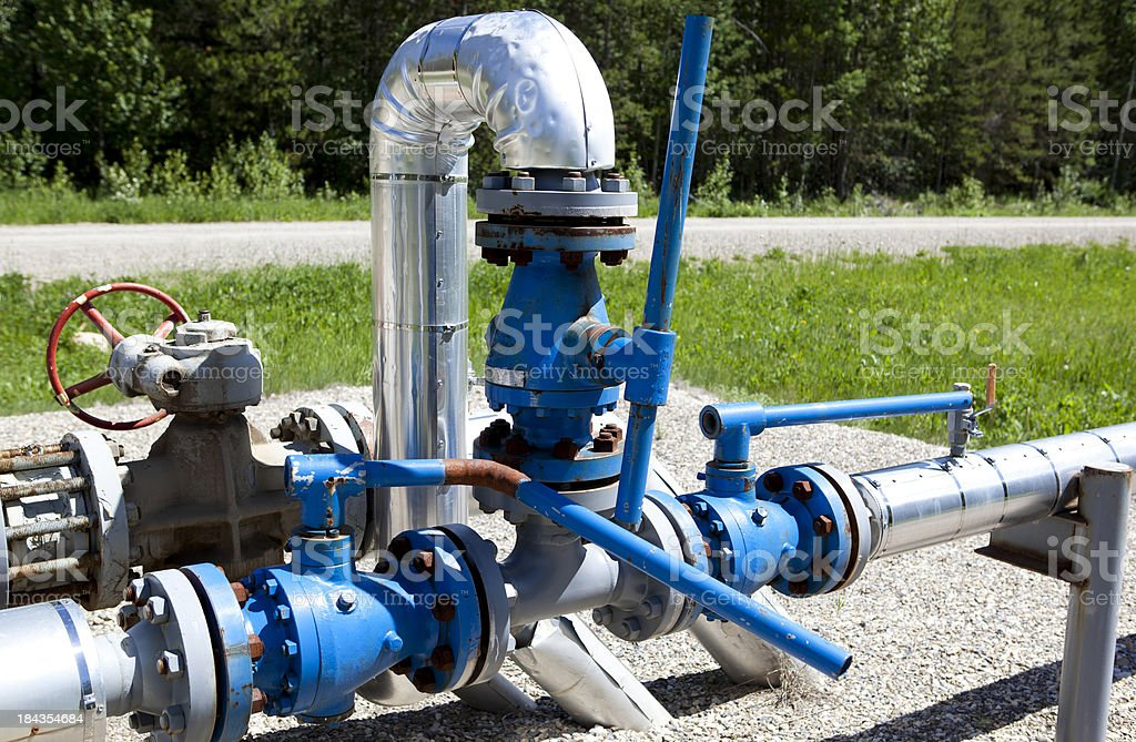 Pipeline - Close up stock photo