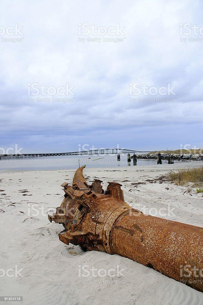 Pipeline Junction stock photo