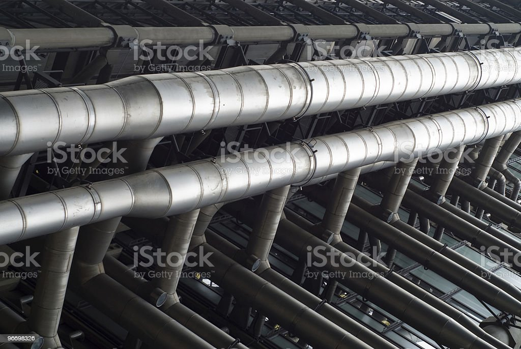 Pipeline pattern royalty-free stock photo