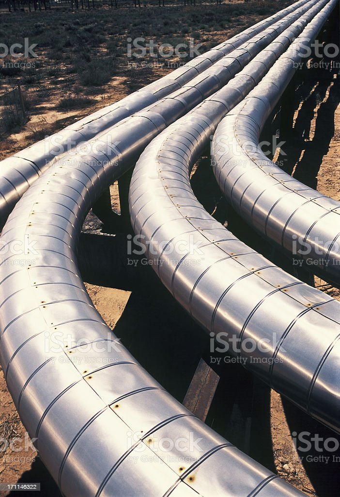 Pipeline. stock photo