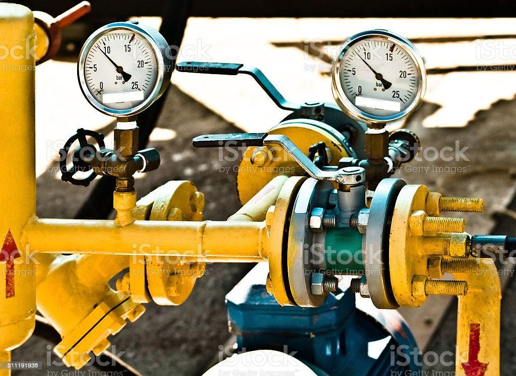 pipeline stock photo