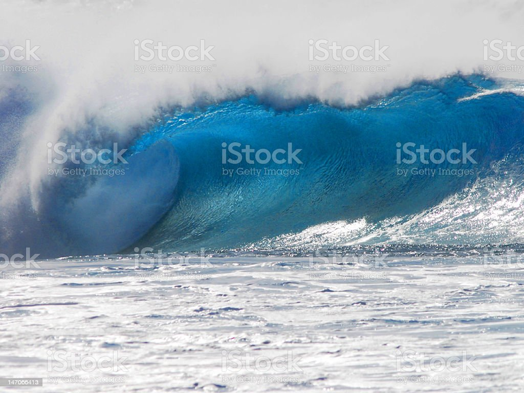 Pipeline Wave royalty-free stock photo