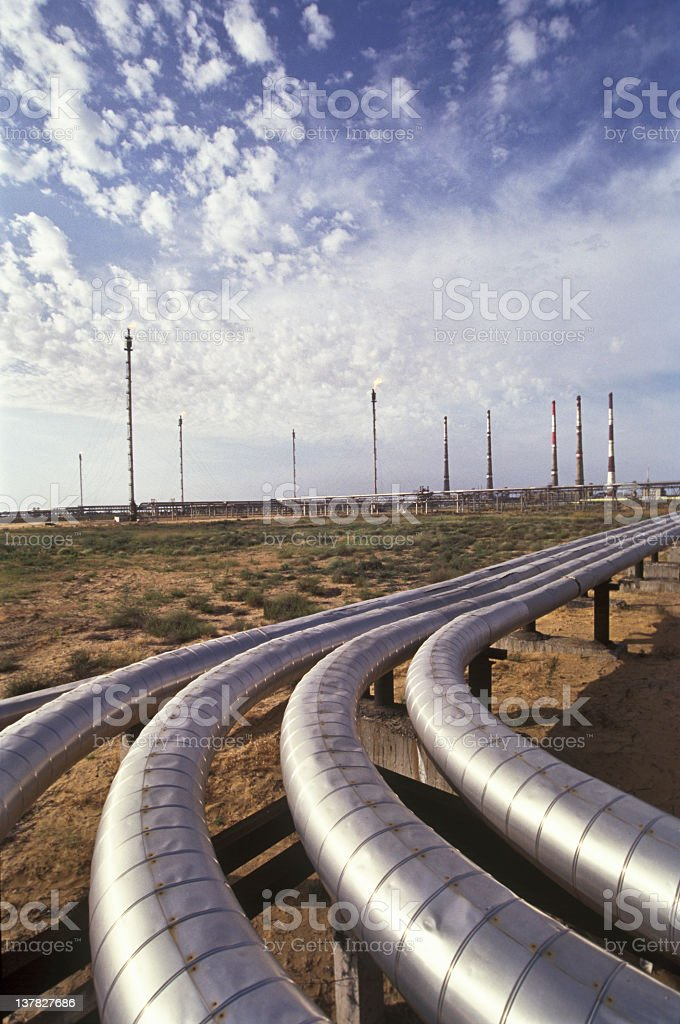 Pipelines. stock photo