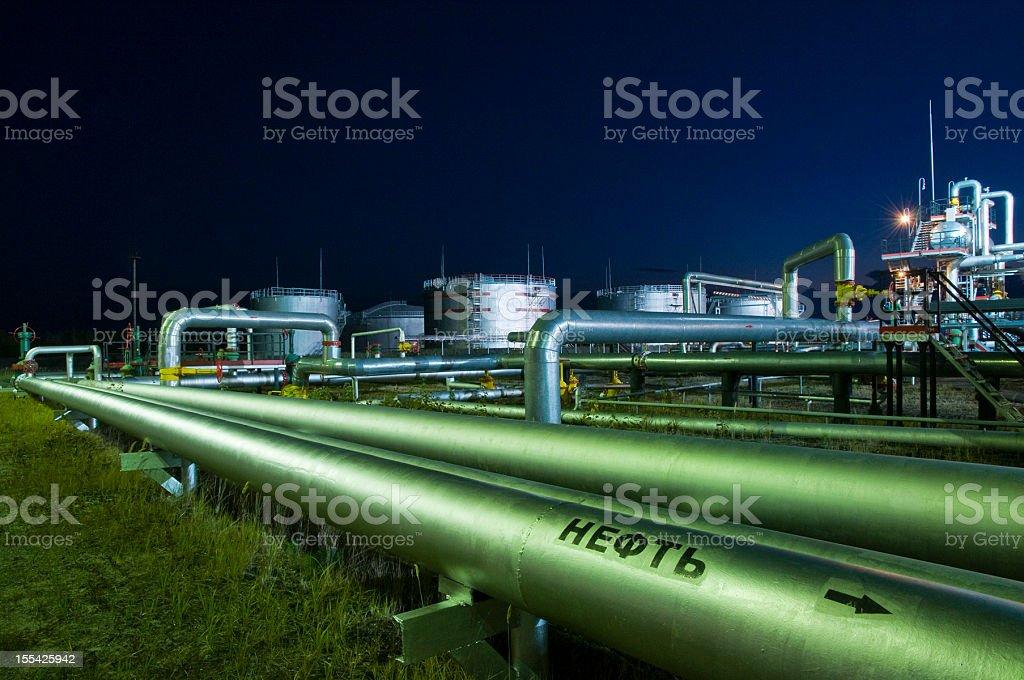 Pipelines. stock photo