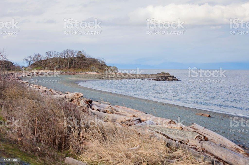 Piper's Lagoon, Nanaimo stock photo
