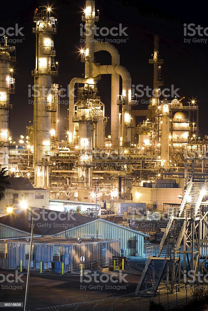 Pipes and Lights royalty-free stock photo