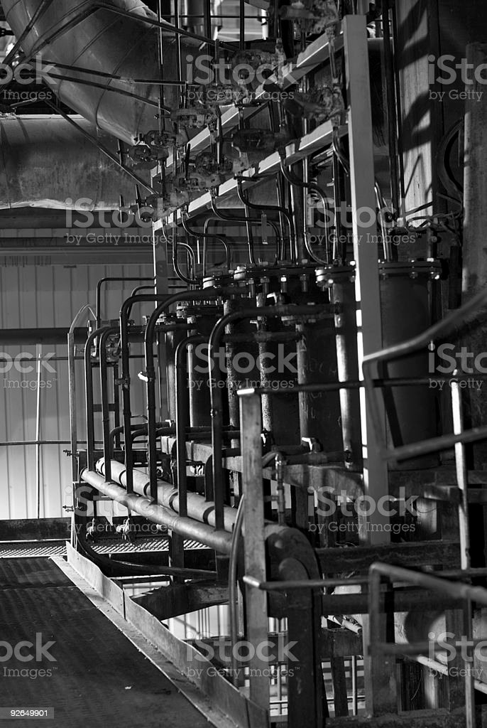 Pipes and tubes royalty-free stock photo