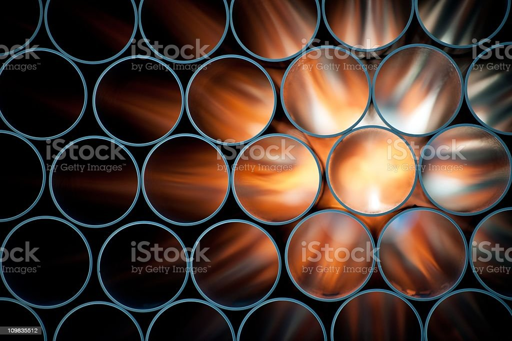 pipes stock photo