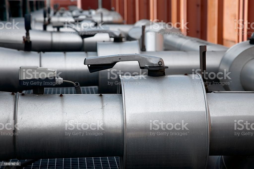 Pipes royalty-free stock photo