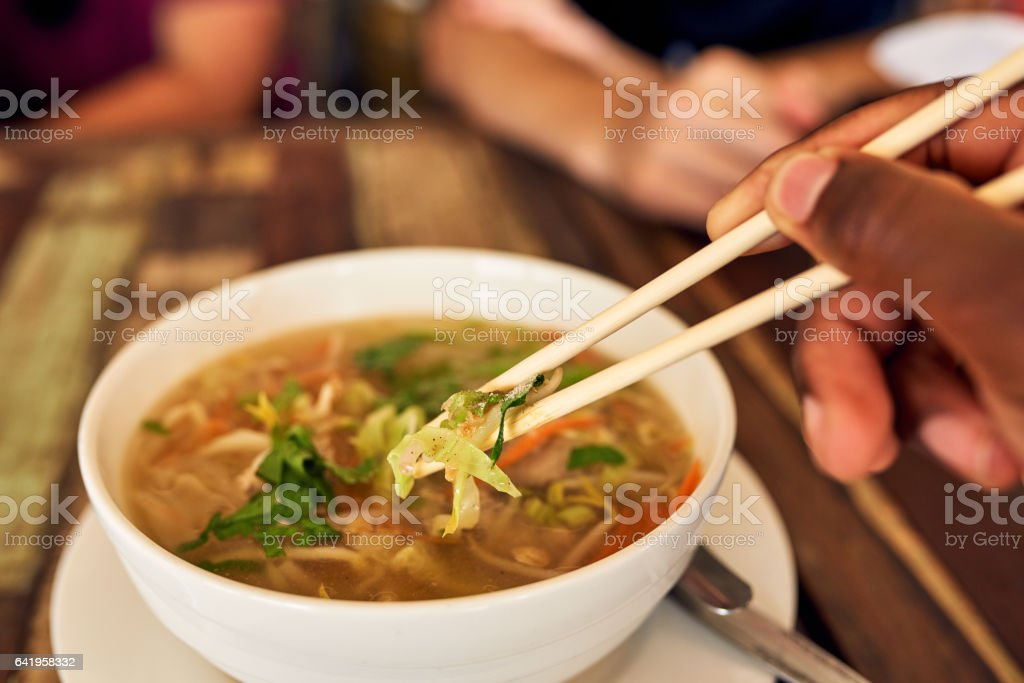 Piping hot and packed with flavour stock photo