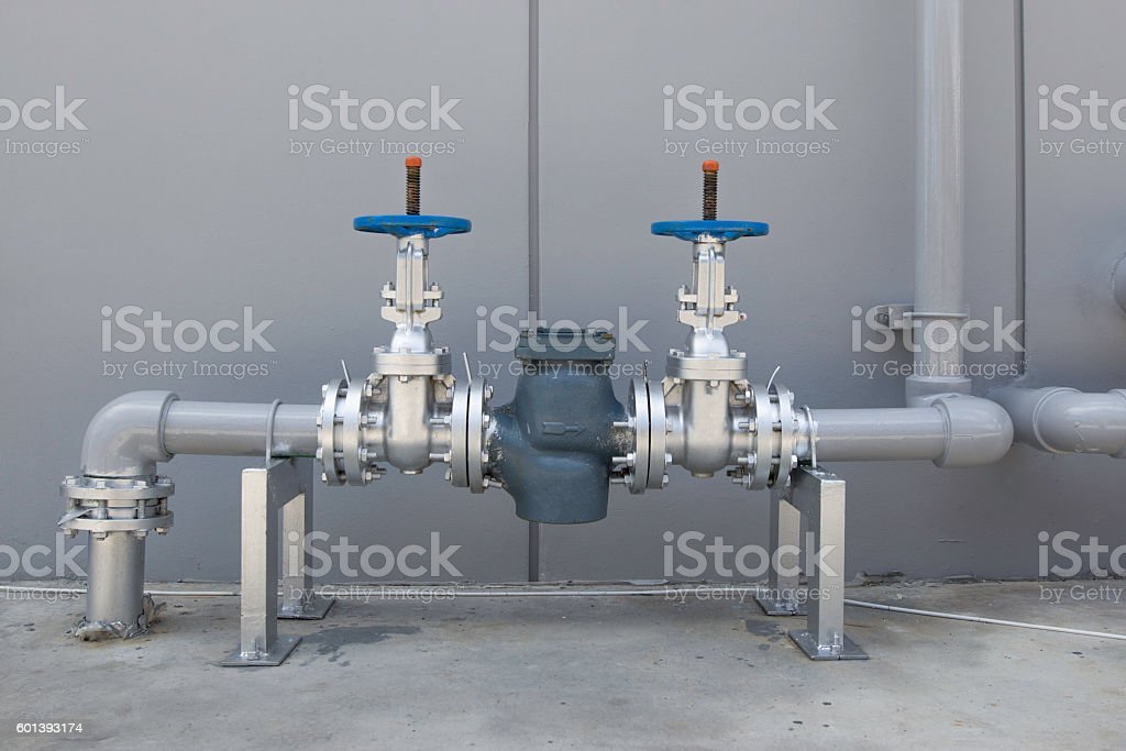piping system stock photo