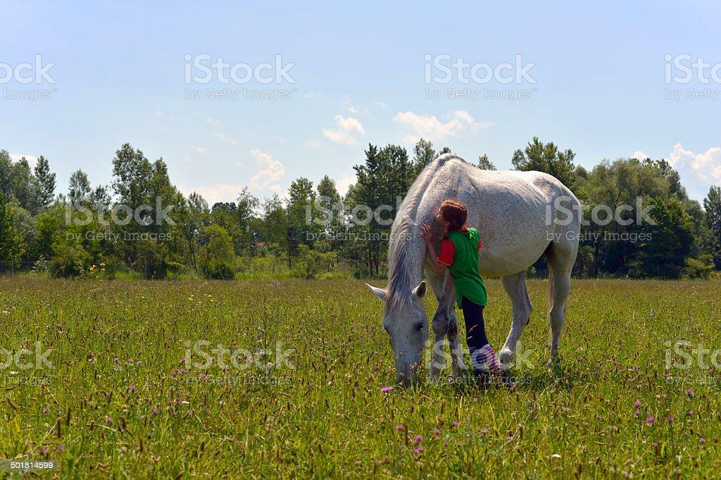 Pippi Longstocking stock photo