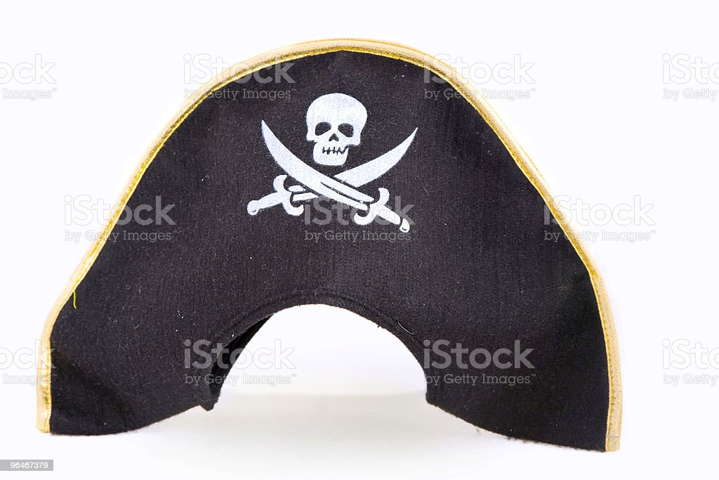 Piracy hat royalty-free stock photo