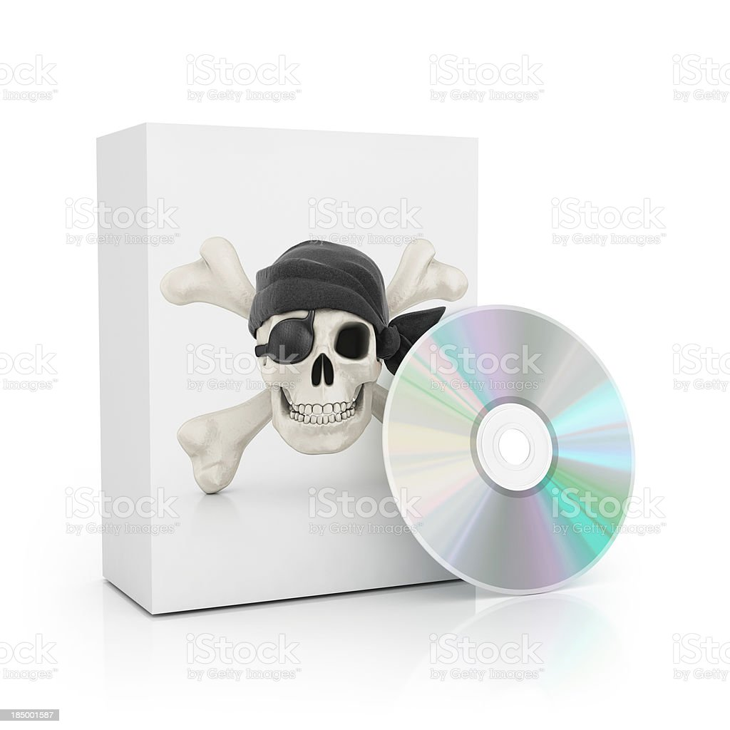 piracy software royalty-free stock photo