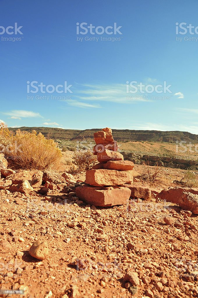 Piramid son path sign royalty-free stock photo