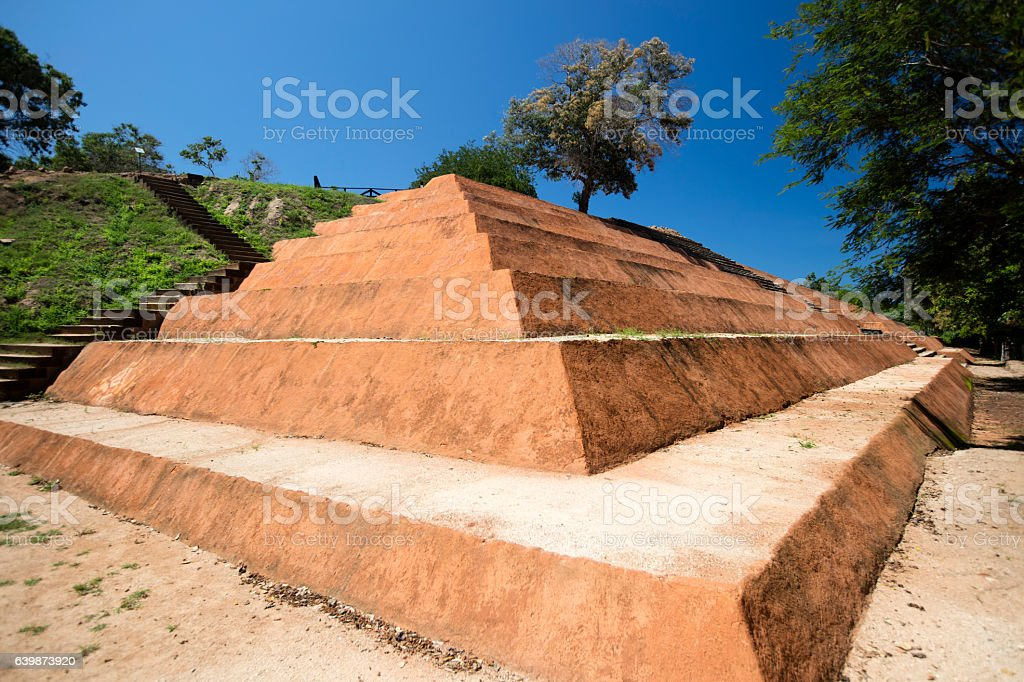 Piramide, Guerrero, Zihuatanejo, Mexico stock photo
