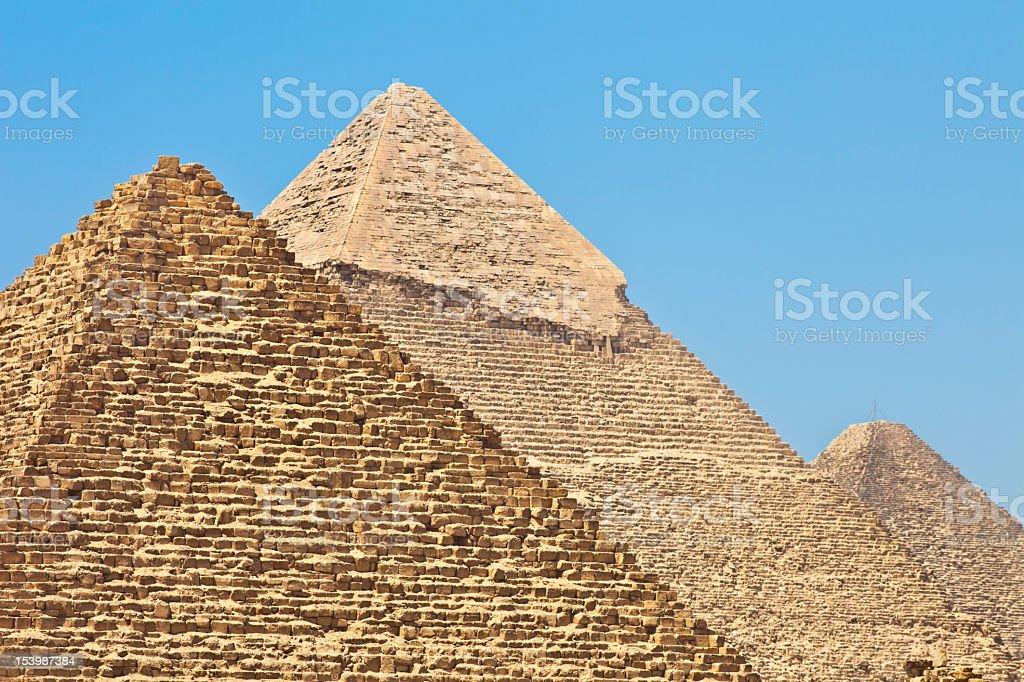 Piramids royalty-free stock photo