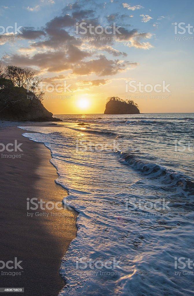 Pirate Beach stock photo