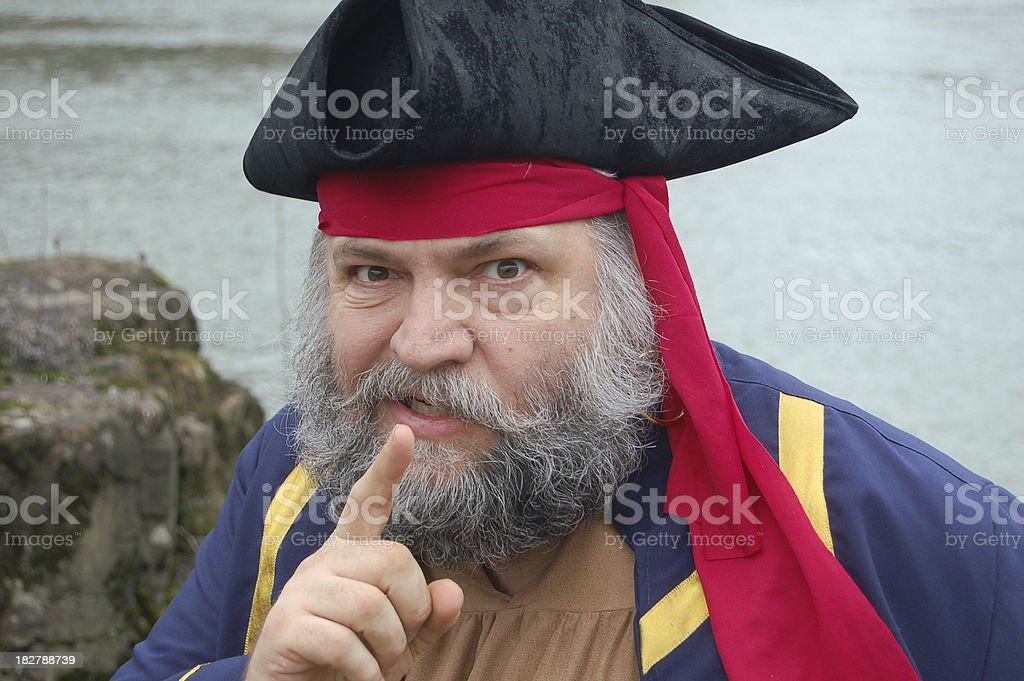 Pirate Captian's Instructions stock photo