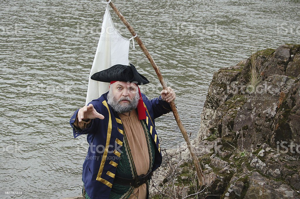 Pirate Parley stock photo