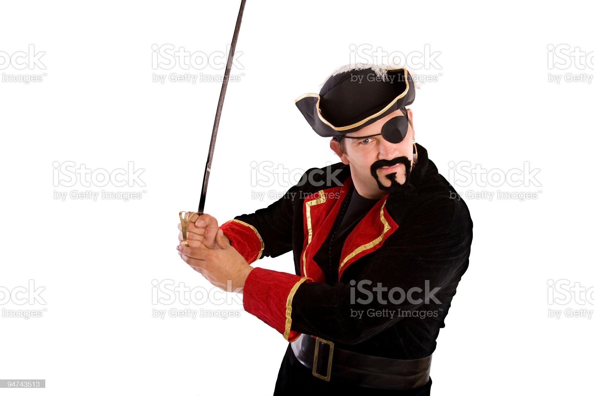 Pirate royalty-free stock photo