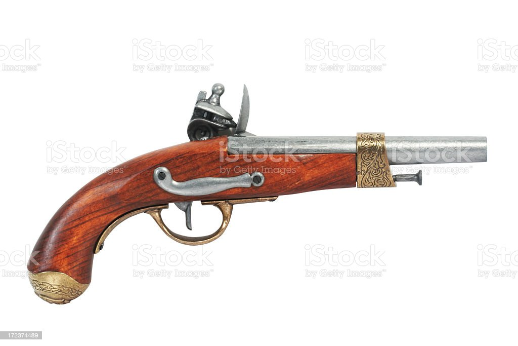 Pirate pistol royalty-free stock photo