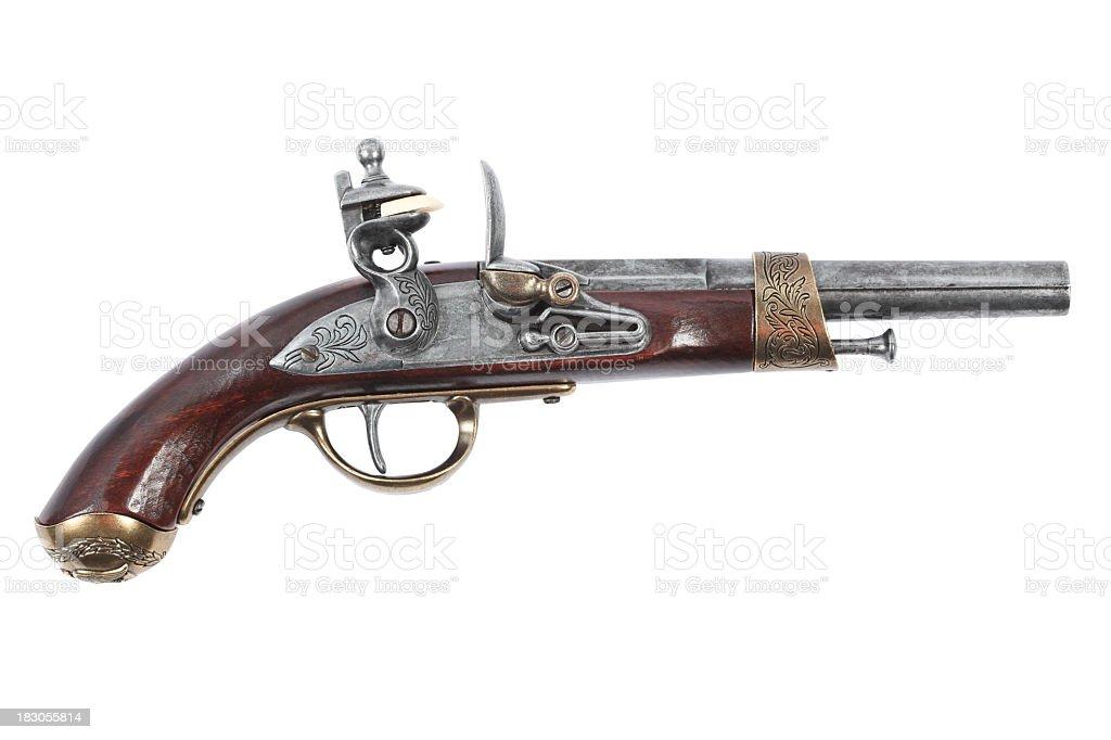 Pirate Pistol stock photo