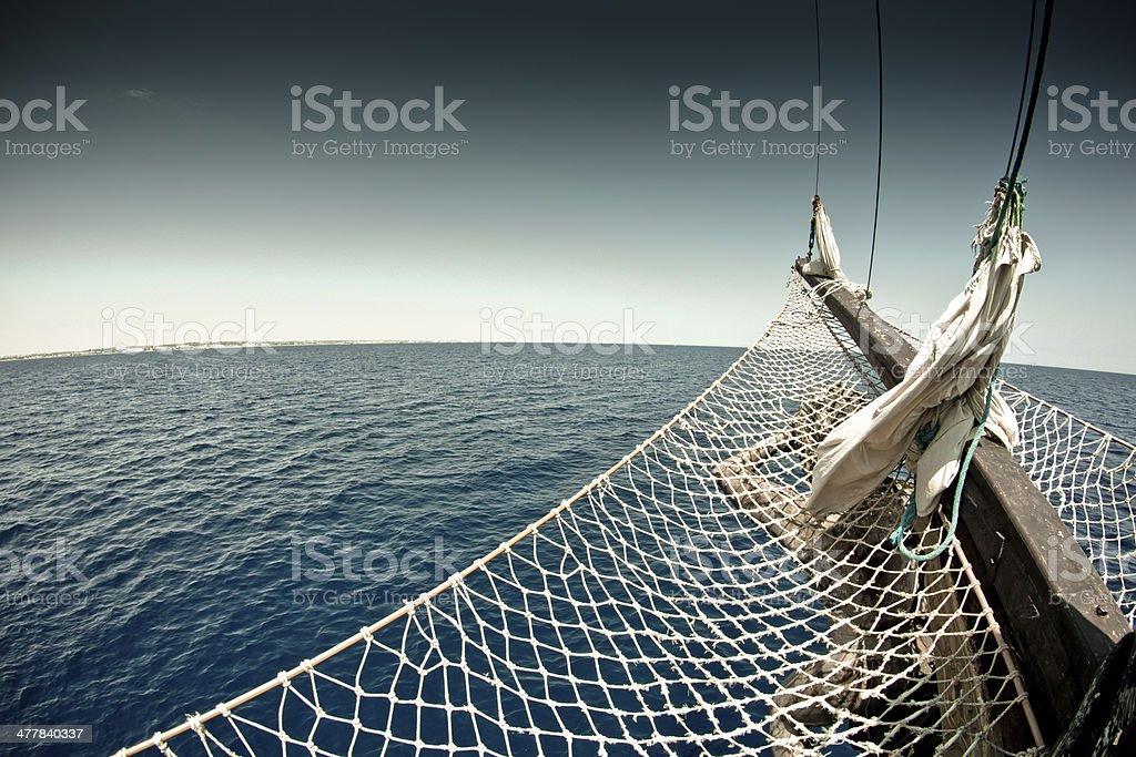 pirate ship royalty-free stock photo