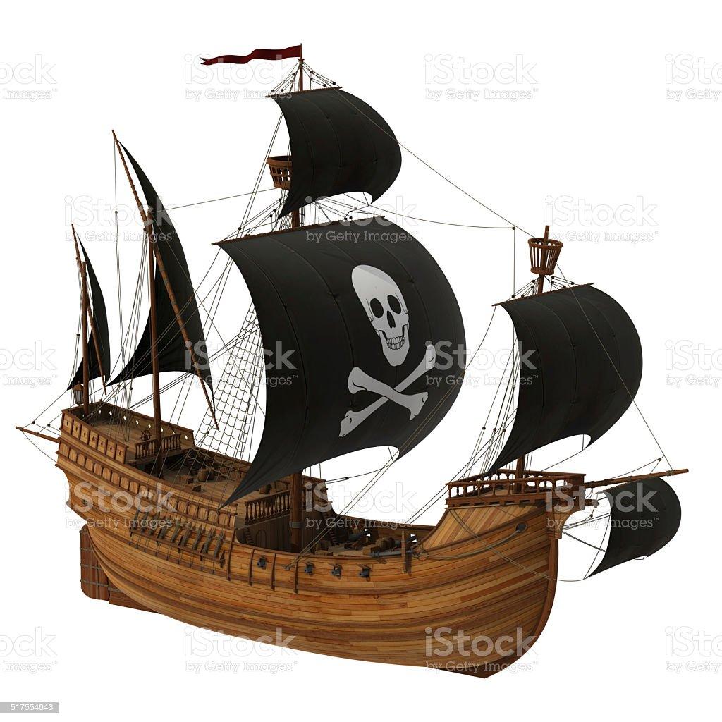 Pirate Ship stock photo