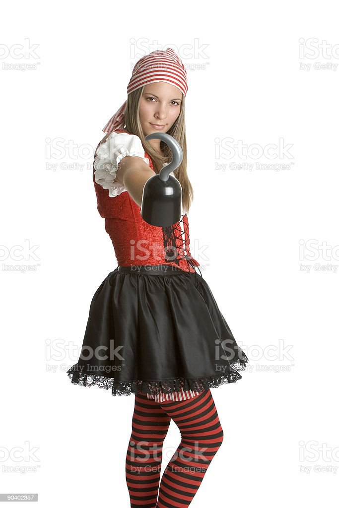 Pirate With Hook royalty-free stock photo