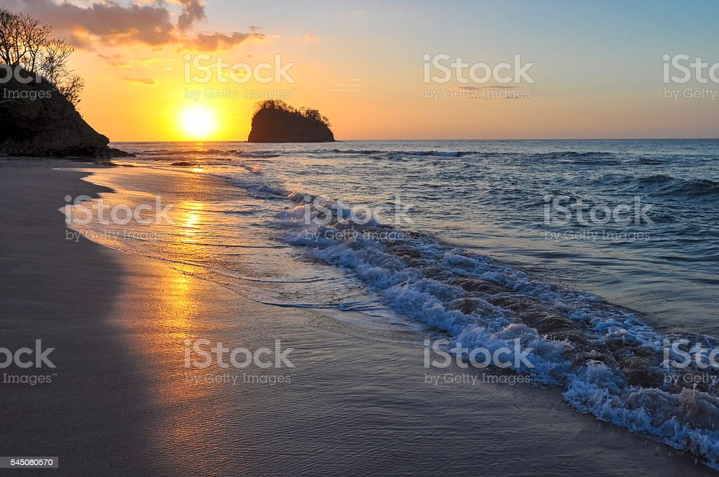 Playa Piratas stock photo