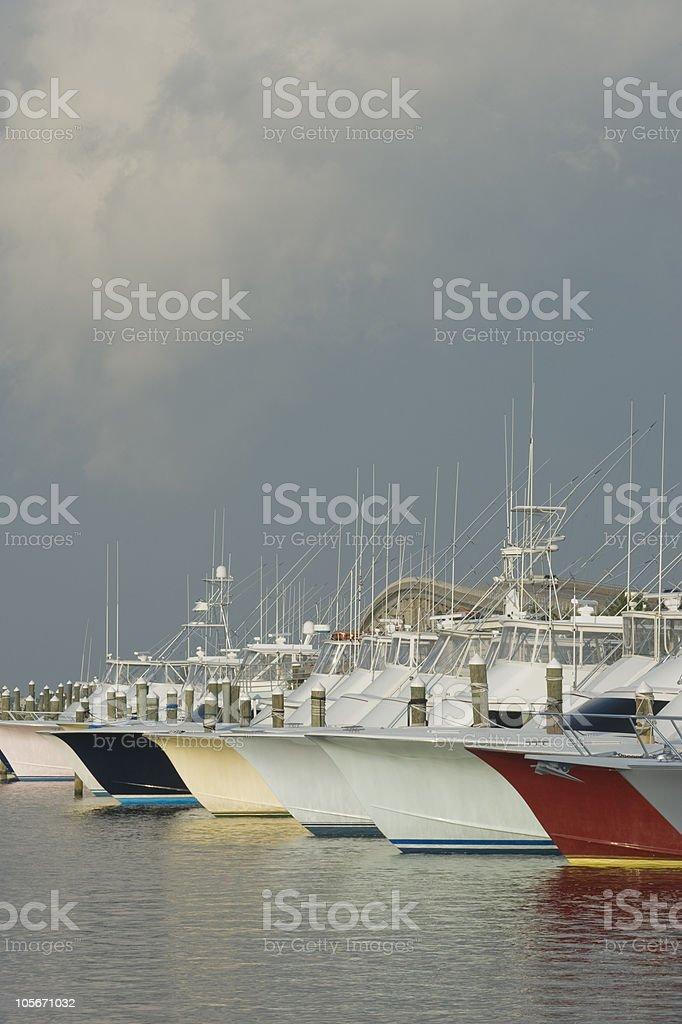 Pirate's Cove Marina stock photo