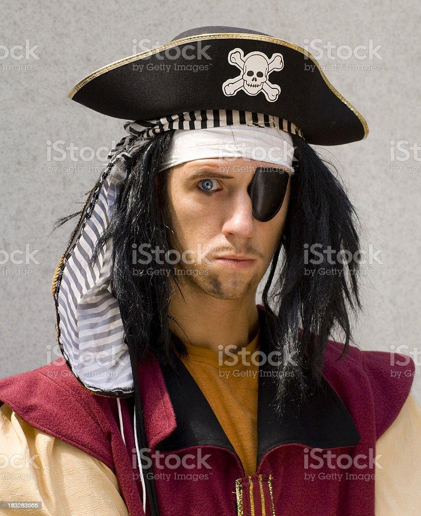 Pirate's eye 2 royalty-free stock photo