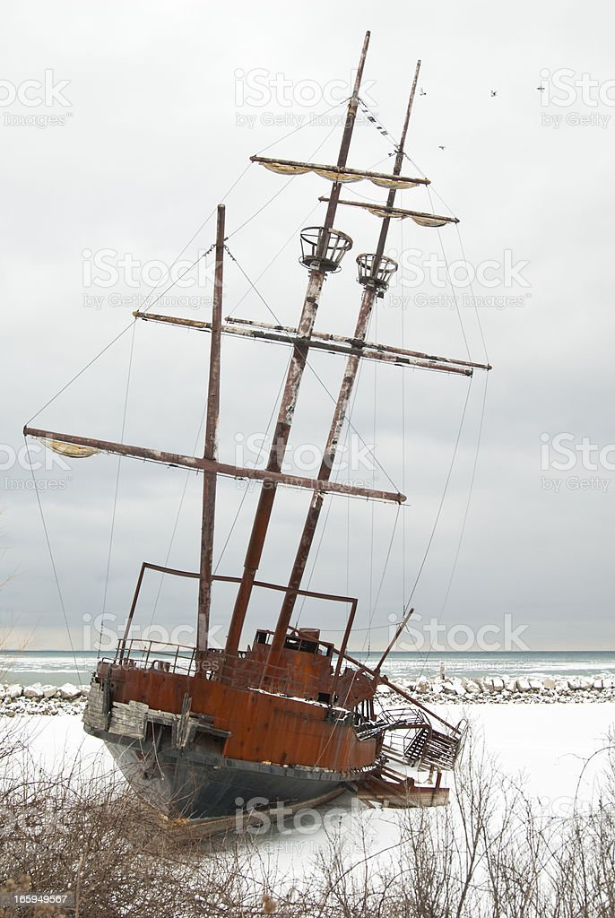 Pirates in the Harbour royalty-free stock photo