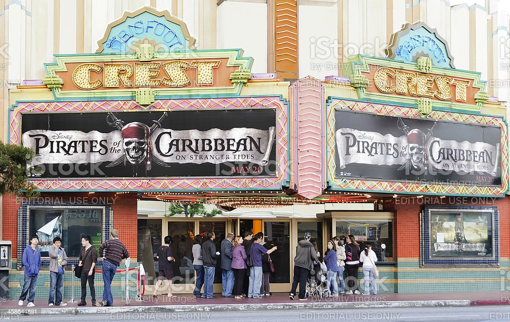 Pirates of the Caribbean: On Stranger Tides - Release Day stock photo